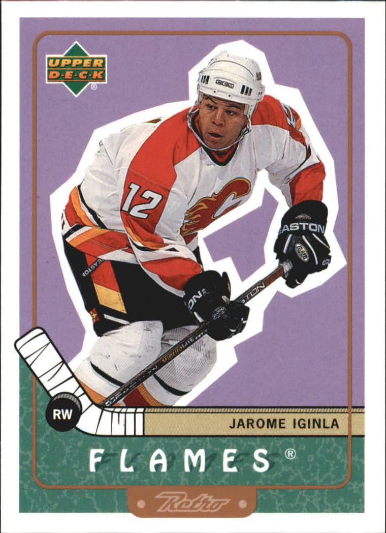 1999-00 Upper Deck Retro #12 Jarome Iginla