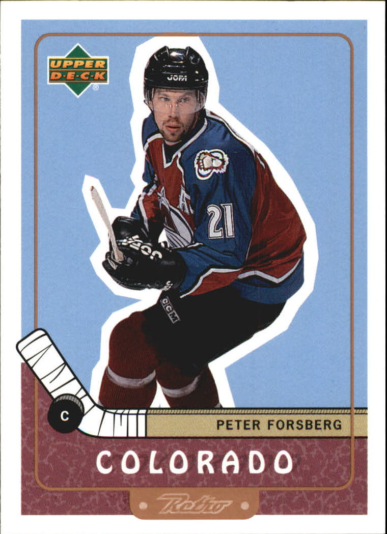 1999-00 Upper Deck Retro #19 Peter Forsberg