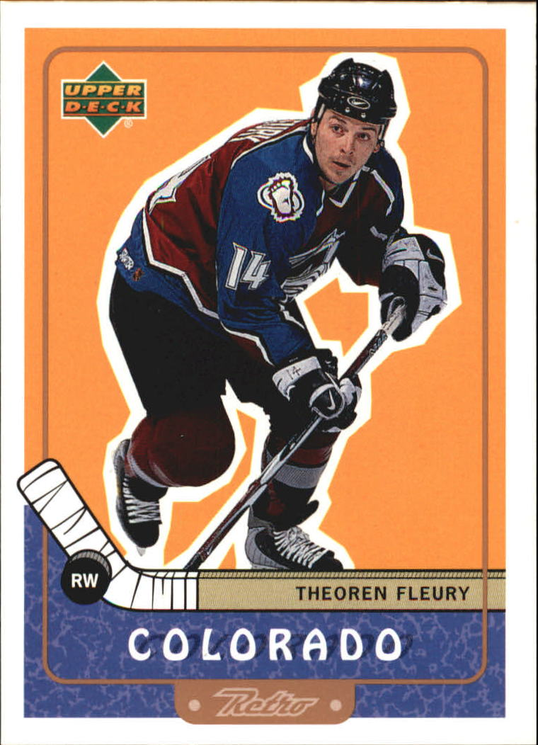 1999-00 Upper Deck Retro #22 Theo Fleury