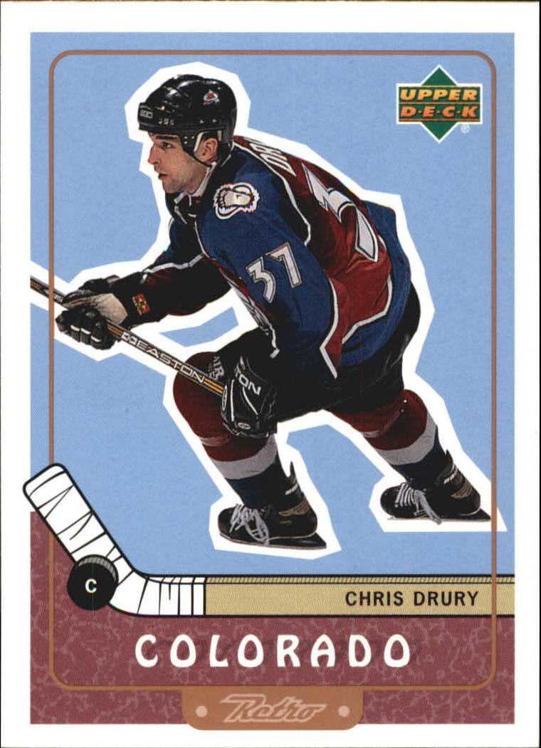 1999-00 Upper Deck Retro #23 Chris Drury
