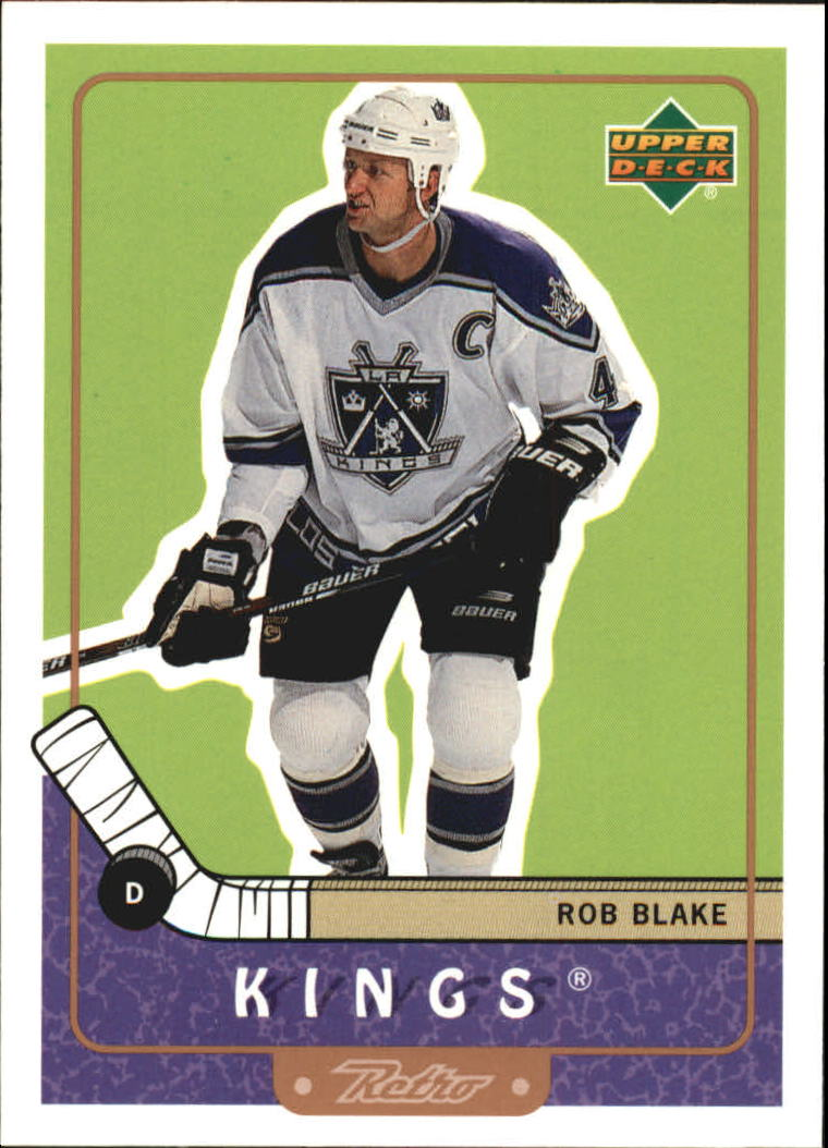 1999-00 Upper Deck Retro #37 Rob Blake