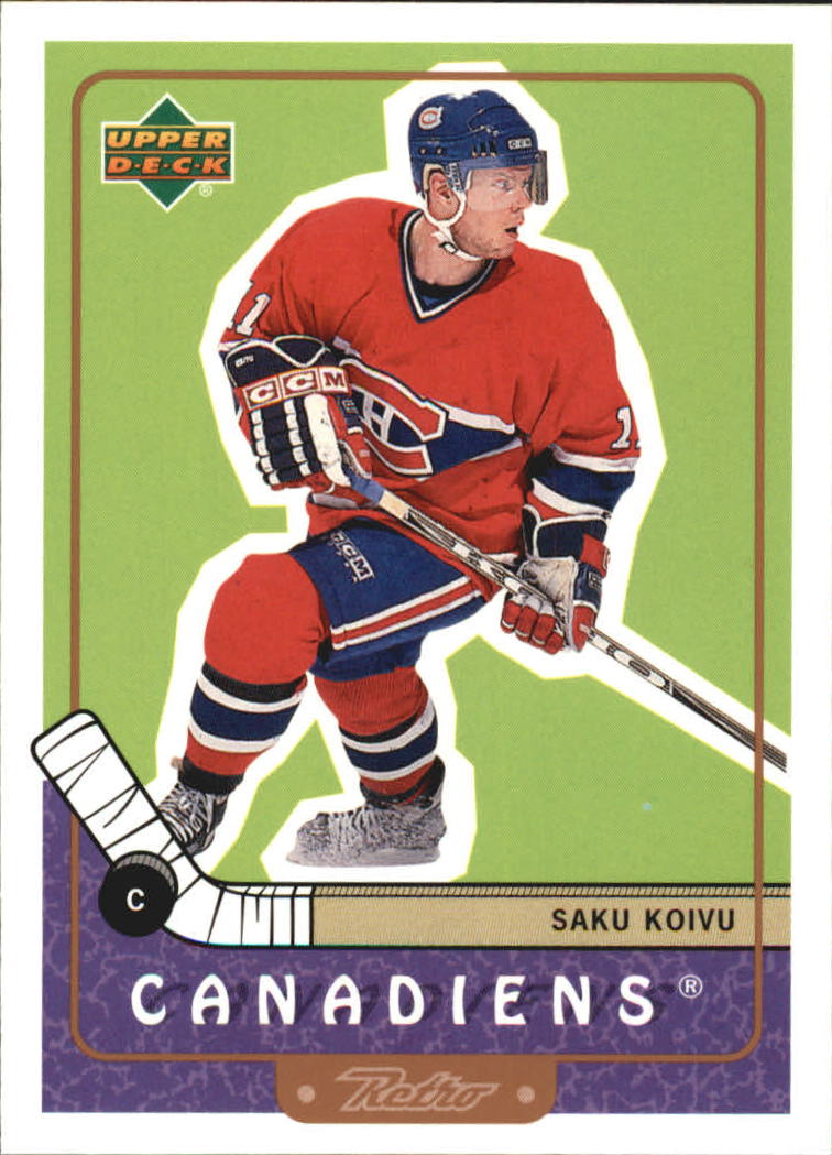 1999-00 Upper Deck Retro #41 Saku Koivu