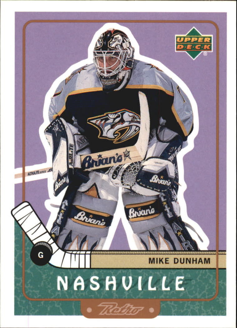 1999-00 Upper Deck Retro #44 Mike Dunham