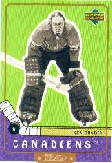 1999-00 Upper Deck Retro #101 Ken Dryden