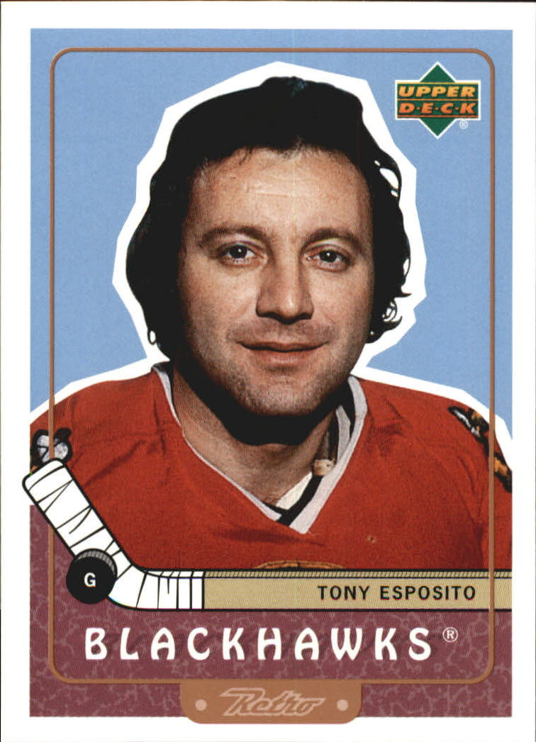 1999-00 Upper Deck Retro #107 Tony Esposito