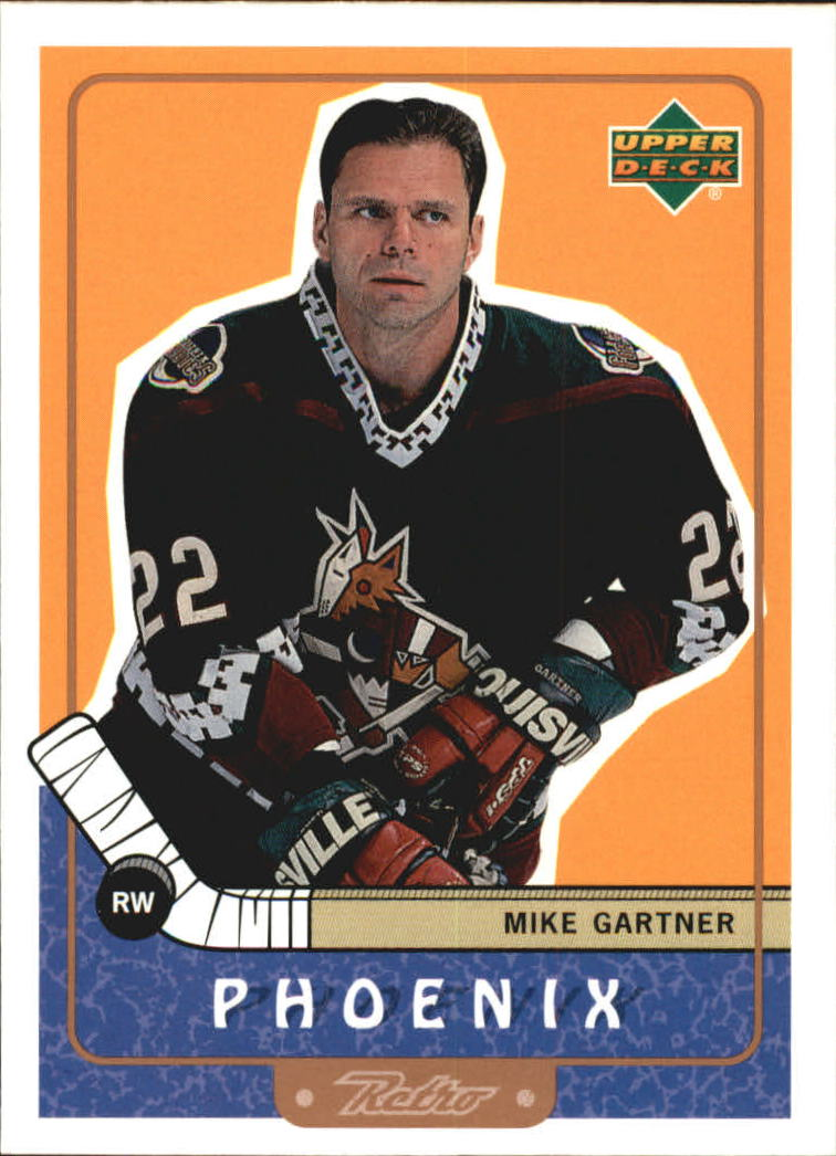 1999-00 Upper Deck Retro #110 Mike Gartner