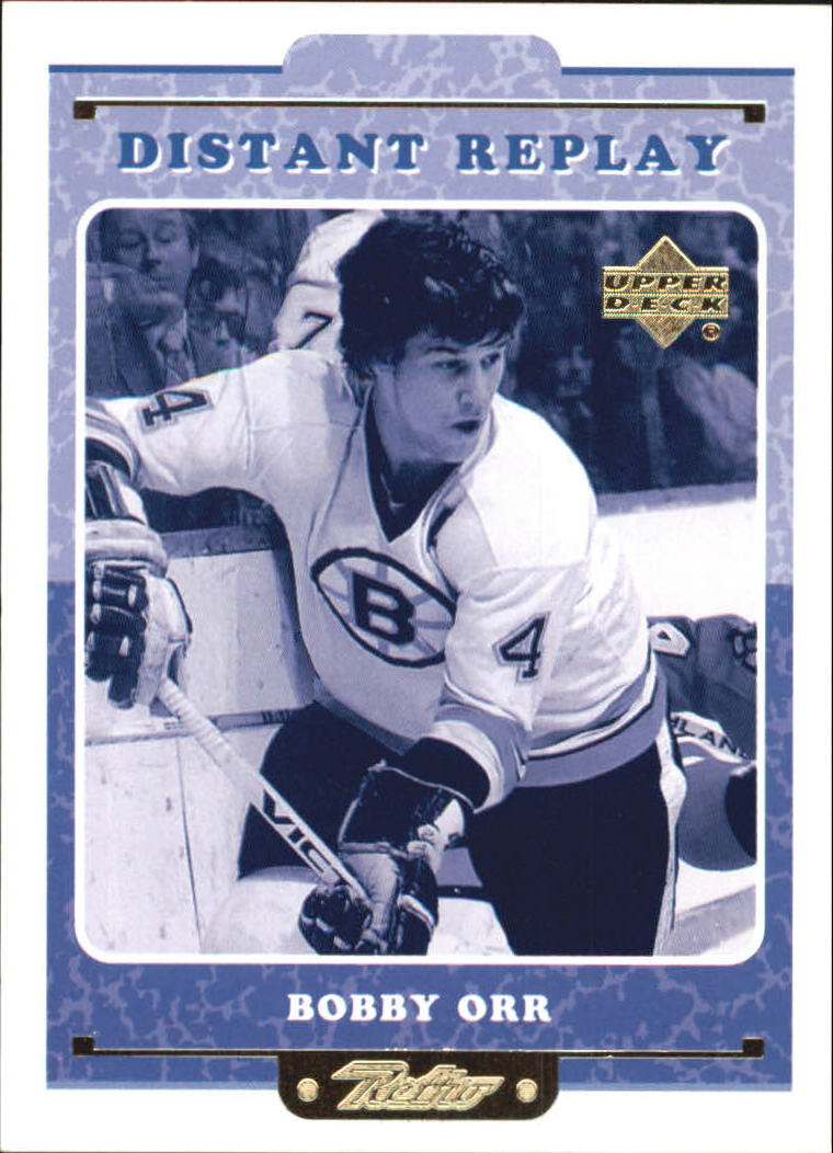 1999-00 Upper Deck Retro Distant Replay #DR10 Bobby Orr