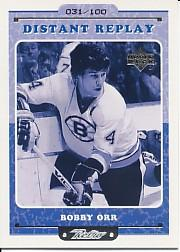 1999-00 Upper Deck Retro Distant Replay Level 2 #DR10 Bobby Orr