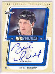 1999-00 Upper Deck Retro Inkredible #BRH Brett Hull