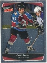 1999-00 Ultimate Victory #25 Chris Drury