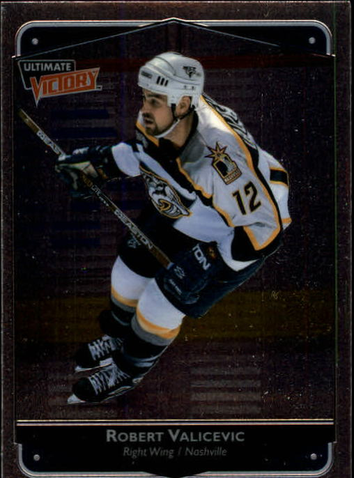 1999-00 Ultimate Victory #49 Rob Valicevic RC