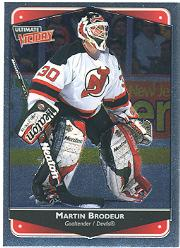 1999-00 Ultimate Victory #50 Martin Brodeur