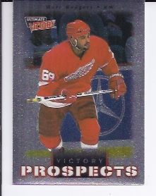 1999-00 Ultimate Victory #97 Marc Rodgers SP RC