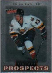 1999-00 Ultimate Victory #107 Sheldon Keefe SP RC