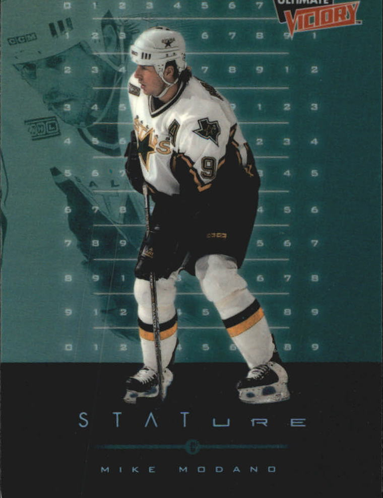 1999-00 Ultimate Victory Stature #S4 Mike Modano