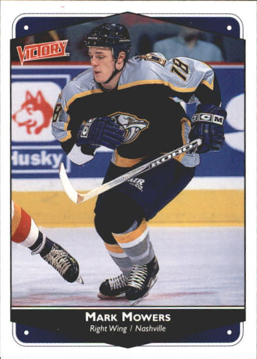 1999-00 Upper Deck Victory #161 Mark Mowers RC