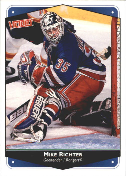 1999-00 Upper Deck Victory #189 Mike Richter