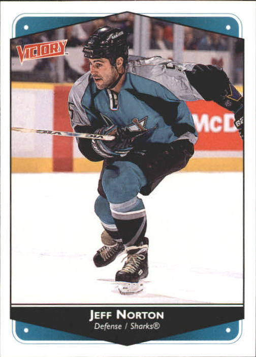 1999-00 Upper Deck Victory #255 Jeff Norton