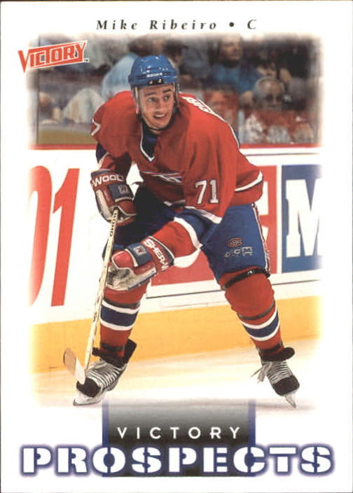1999-00 Upper Deck Victory #370 Mike Ribiero