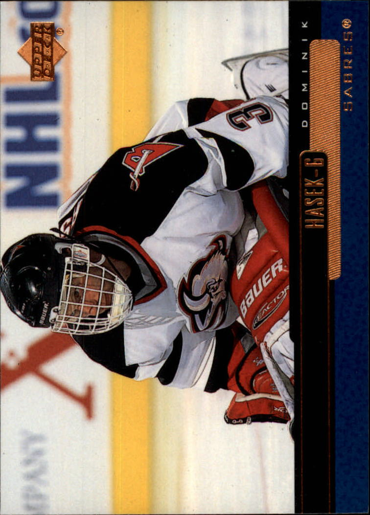 1999-00 Upper Deck #22 Dominik Hasek