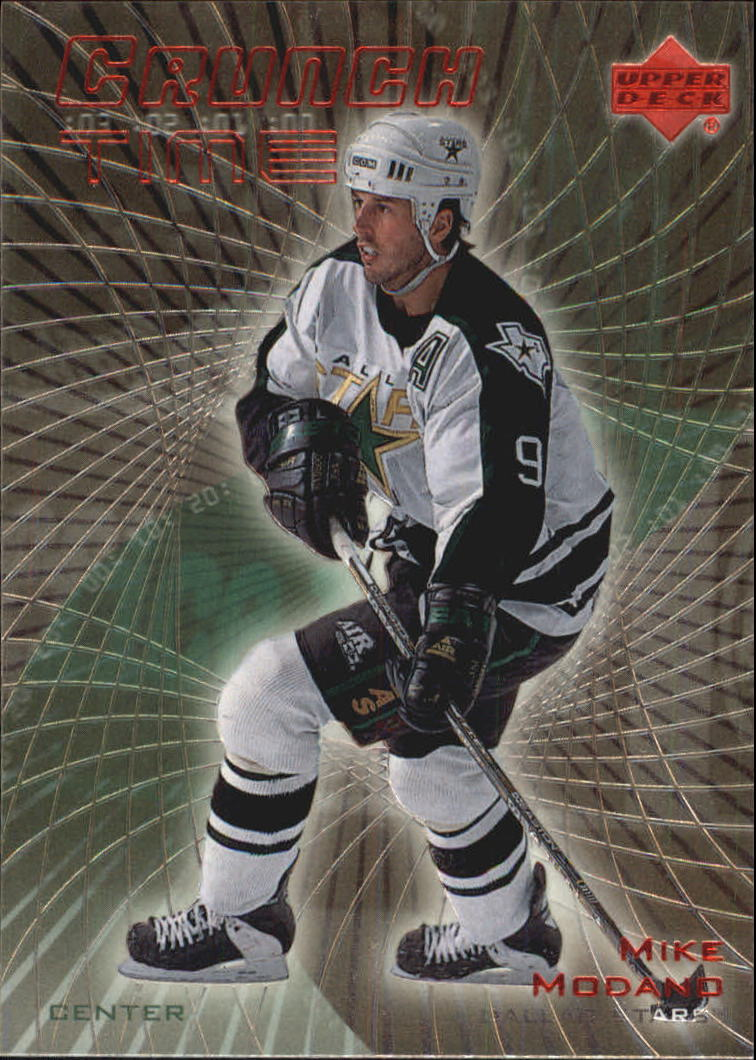1999-00 Upper Deck Crunch Time #CT14 Mike Modano