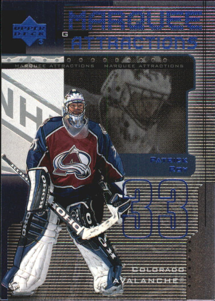 1999-00 Upper Deck Marquee Attractions #MA6 Patrick Roy