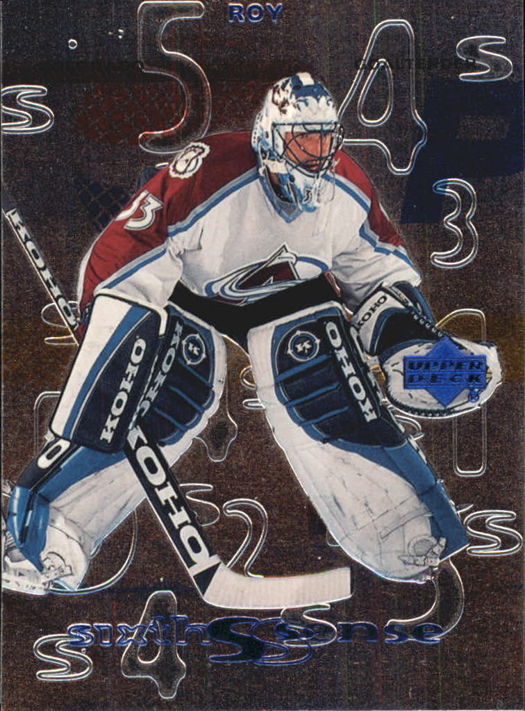 1999-00 Upper Deck Sixth Sense #SS2 Patrick Roy
