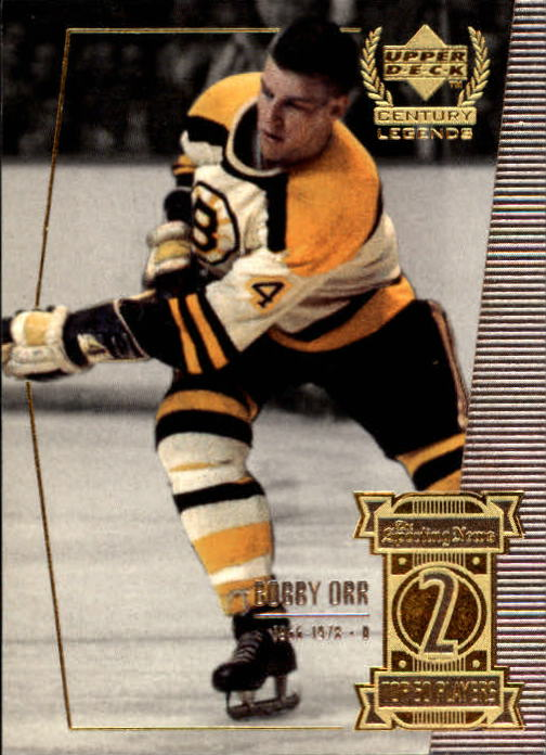 1999-00 Upper Deck Century Legends #2 Bobby Orr