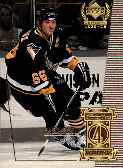 1999-00 Upper Deck Century Legends #4 Mario Lemieux
