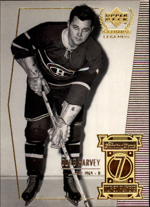 1999-00 Upper Deck Century Legends #7 Doug Harvey