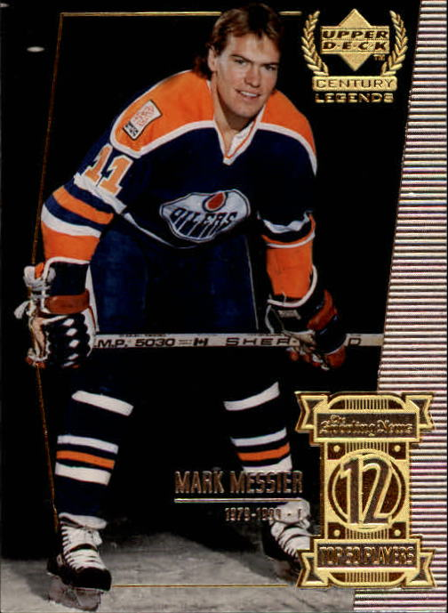 1999-00 Upper Deck Century Legends #12 Mark Messier