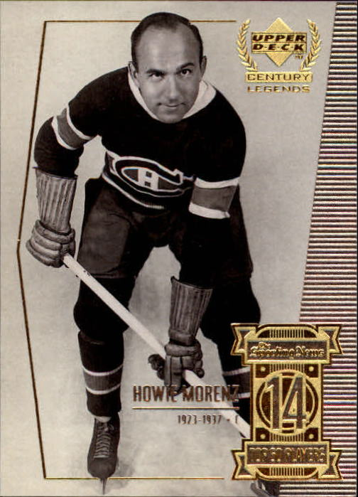 1999-00 Upper Deck Century Legends #14 Howie  Morenz