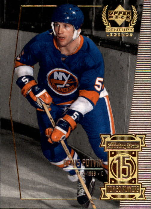 1999-00 Upper Deck Century Legends #15 Denis Potvin
