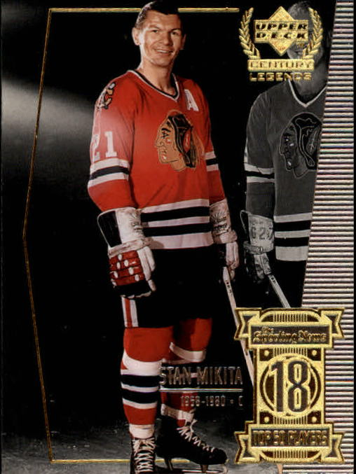1999-00 Upper Deck Century Legends #18 Stan Mikita