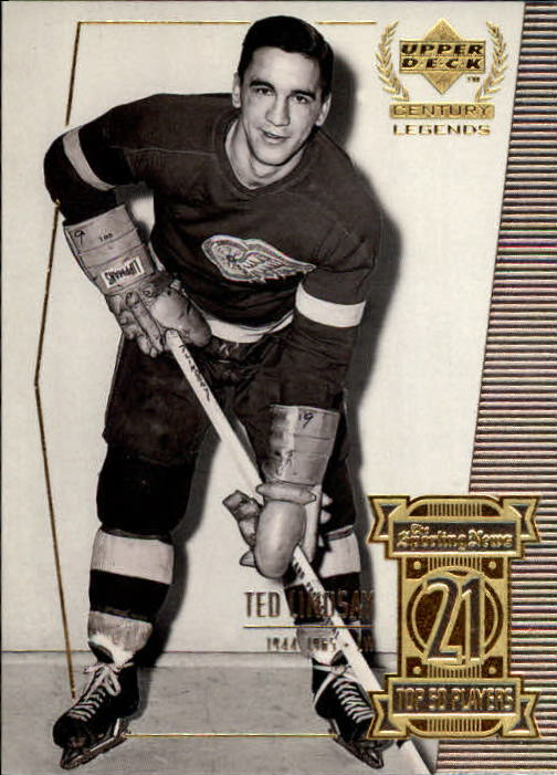 1999-00 Upper Deck Century Legends #21 Ted Lindsay