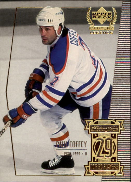 1999-00 Upper Deck Century Legends #29 Paul Coffey