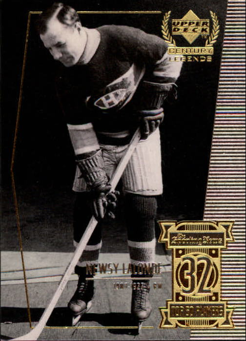 1999-00 Upper Deck Century Legends #32 Newsy Lalonde