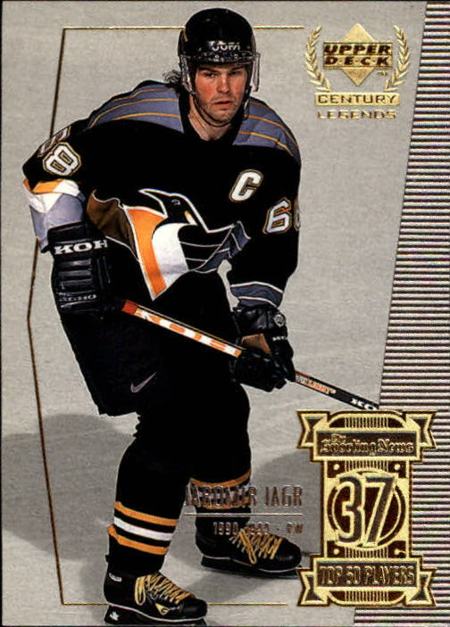 1999-00 Upper Deck Century Legends #37 Jaromir Jagr