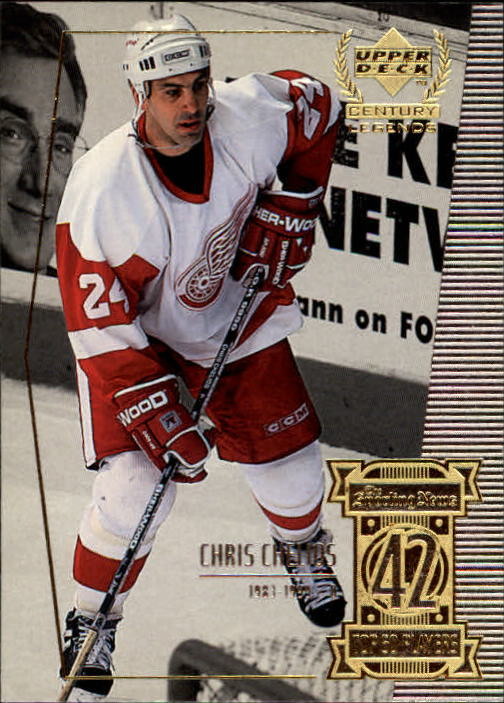 1999-00 Upper Deck Century Legends #42 Chris Chelios