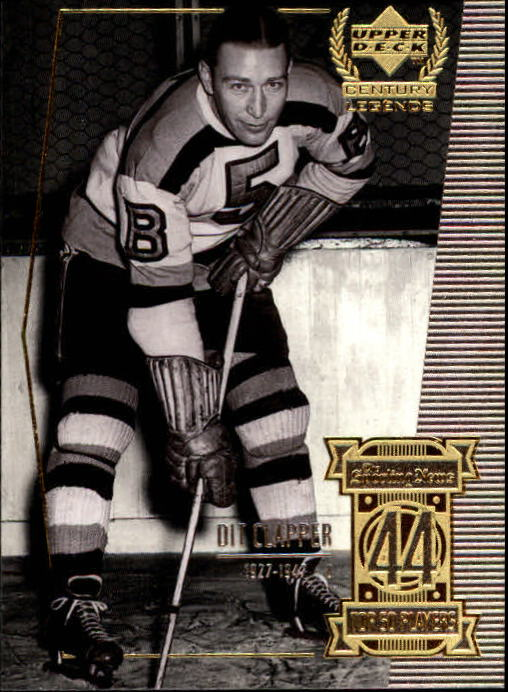 1999-00 Upper Deck Century Legends #44 Dit Clapper