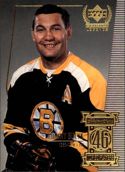 1999-00 Upper Deck Century Legends #46 Johnny Bucyk