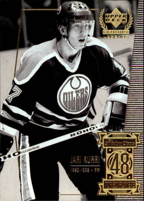 1999-00 Upper Deck Century Legends #48 Jari Kurri