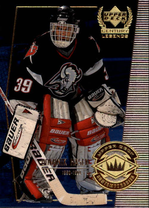 1999-00 Upper Deck Century Legends #51 Dominik Hasek