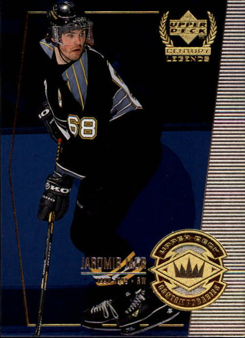 1999-00 Upper Deck Century Legends #52 Jaromir Jagr