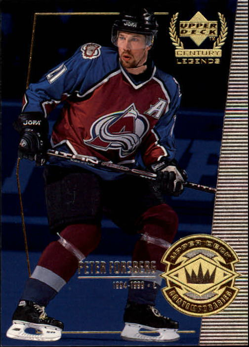 1999-00 Upper Deck Century Legends #53 Peter Forsberg