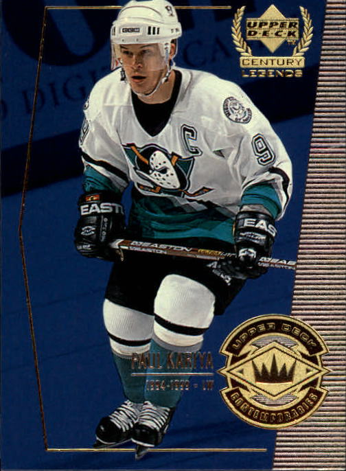 1999-00 Upper Deck Century Legends #54 Paul Kariya