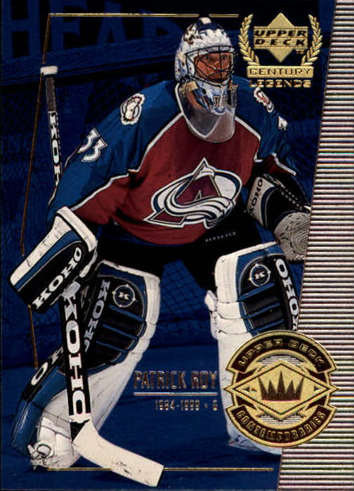 1999-00 Upper Deck Century Legends #55 Patrick Roy