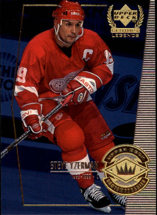 1999-00 Upper Deck Century Legends #56 Steve Yzerman