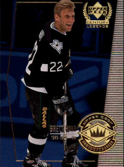 1999-00 Upper Deck Century Legends #62 Brett Hull