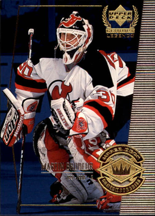 1999-00 Upper Deck Century Legends #63 Martin Brodeur
